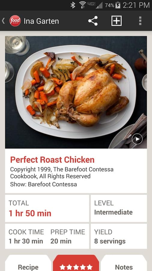 Featured top 10 cooking recipe apps for android android news food network in the kitchen forumfinder Image collections