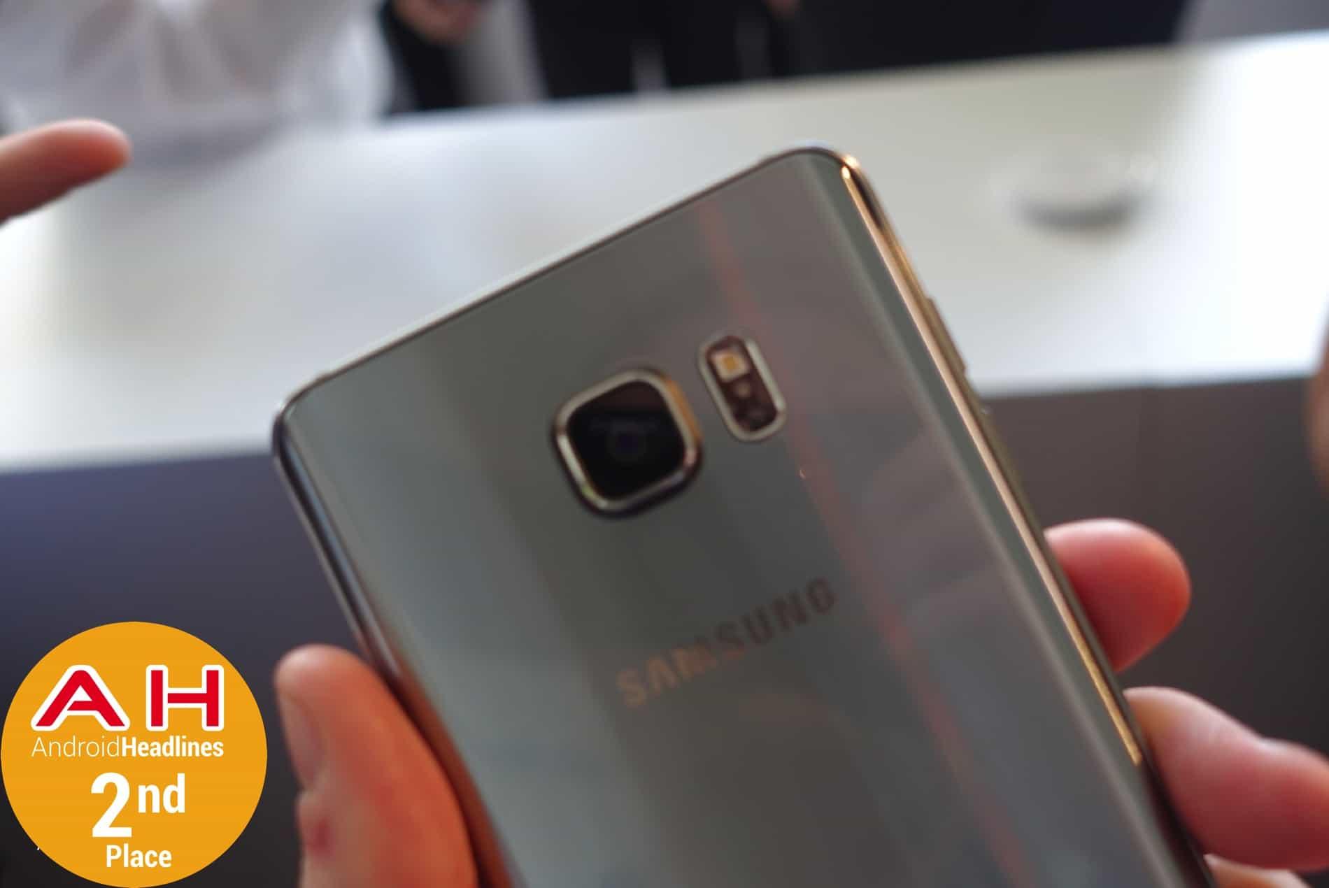 Galaxy Note 5 2nd Place 2015