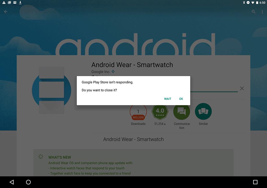 Google Pixel C AH Screenshot unresponsive
