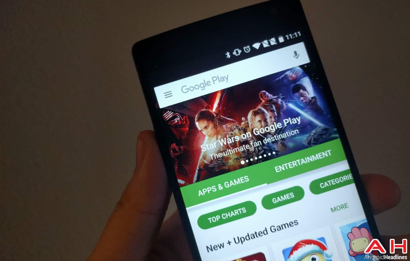 Google Play Store AH