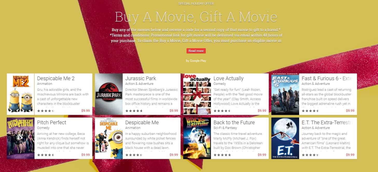 Google movie promo