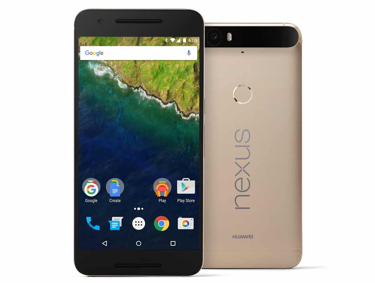 Huawei Nexus 6P Gold Color_4