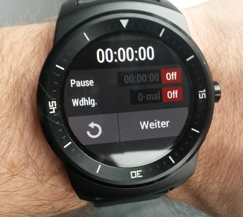 Interval Timer - Android Wear