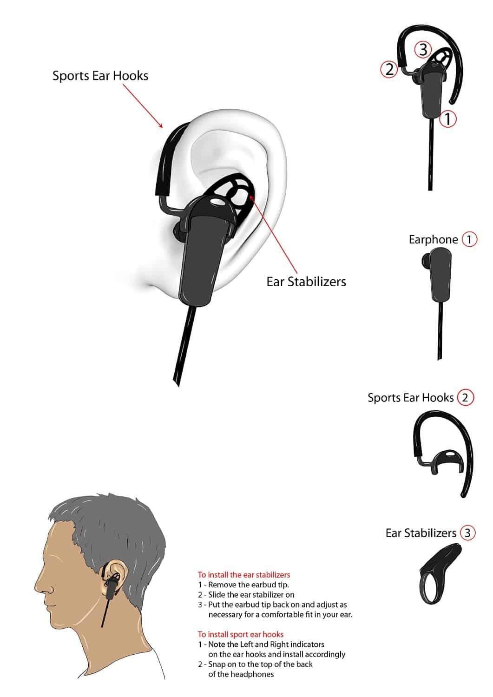 Jarv NMotion Pro Sport Earphones 05