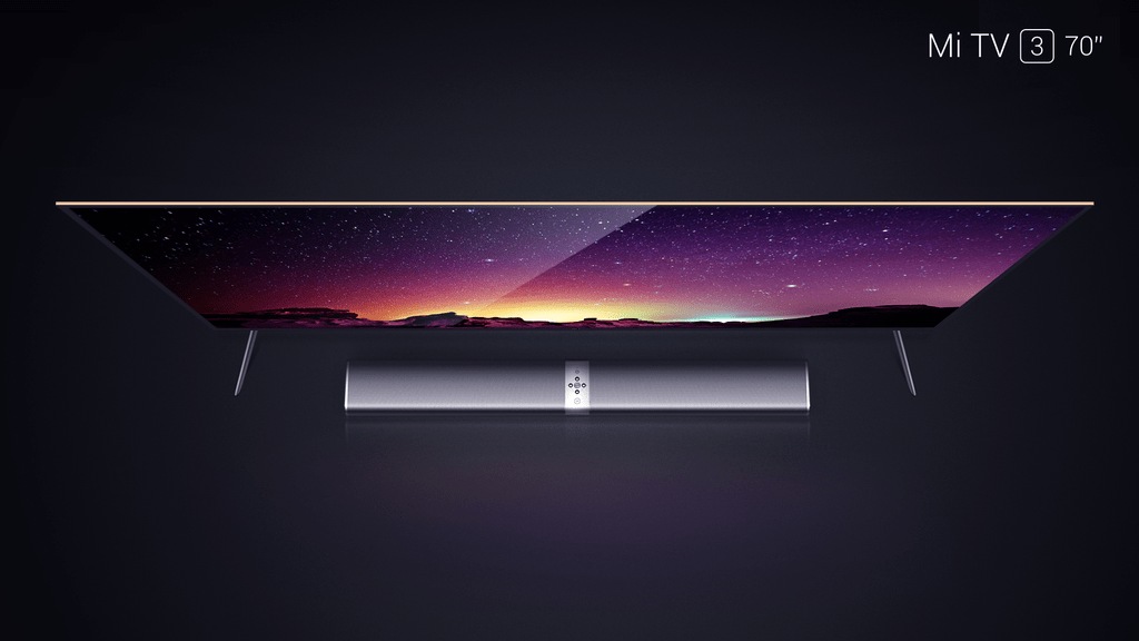 Xiaomi បើកប្រកាសស្មាតTV Mi TV 3 ដែលមានអេក្រង់ទំហំ 70 អ៊ីង ហើយ