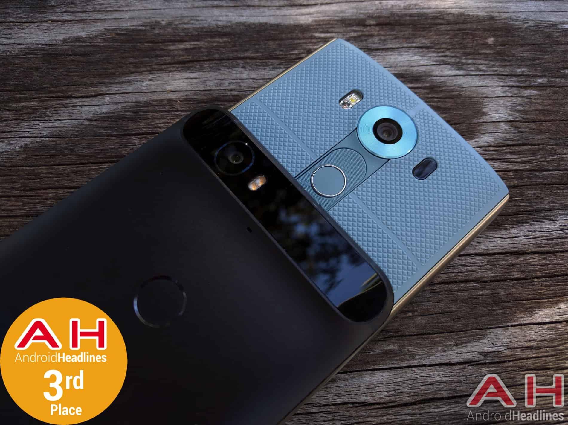 Nexus 6P LG V10 3rd Place 2015