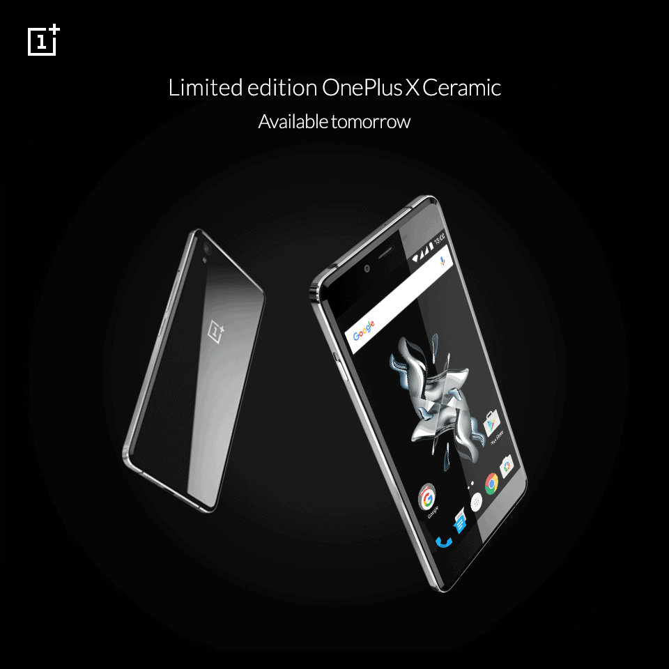 OnePlus X Ceramic Limited Edition Available Tomorrow