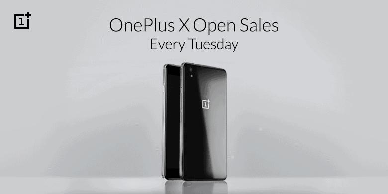 OnePlus X Open Sales Tuesday KK