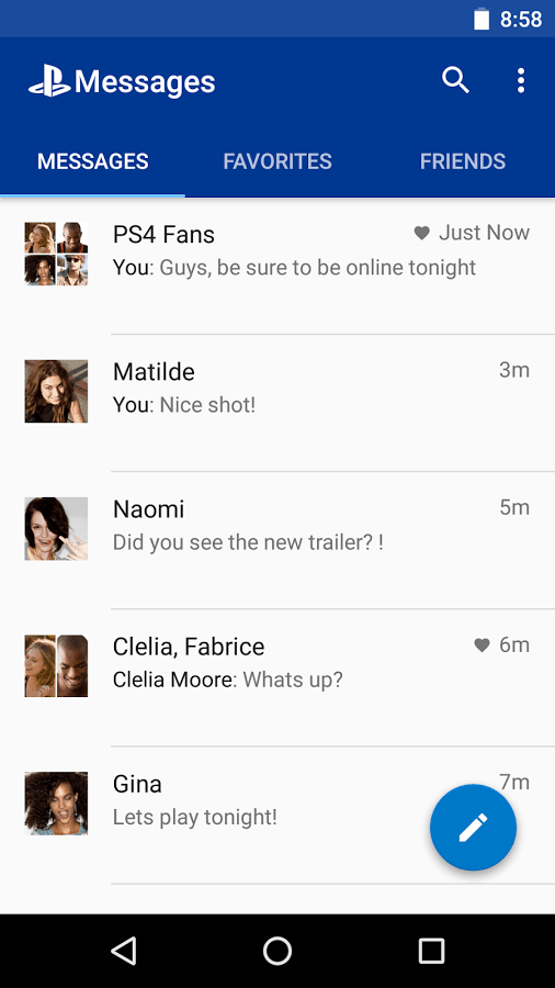 PlayStation Messages 6