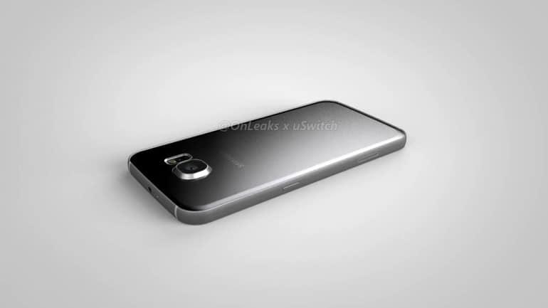 Samsung Galaxy S7 Plus CAD render 2
