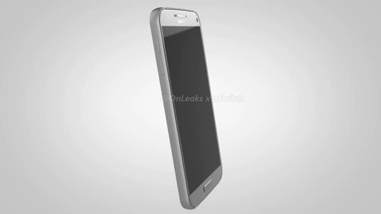 Samsung Galaxy S7 Plus CAD render 3