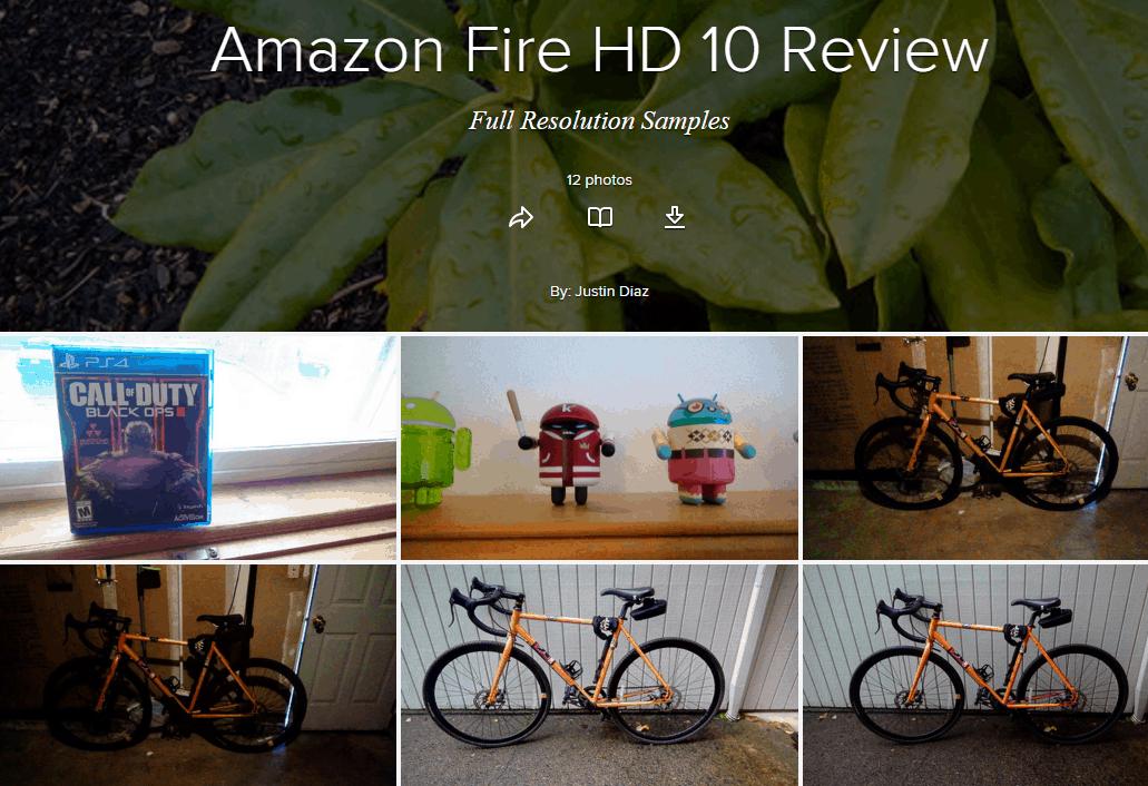 Amazon Fire HD camera samples