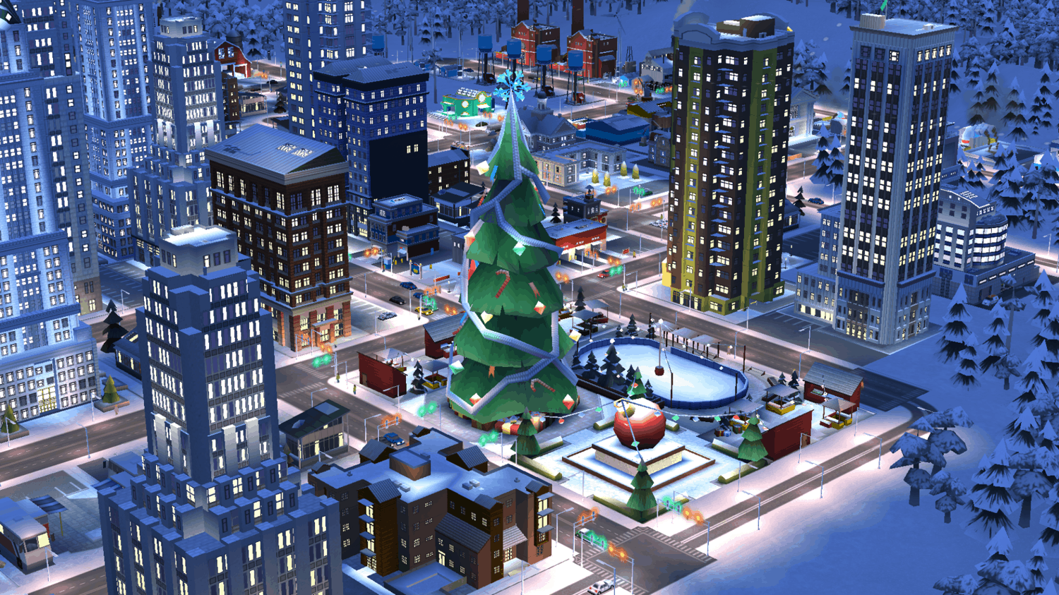 SimCity BuildIt winter update