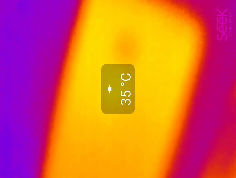 Seek Thermal Camera phone