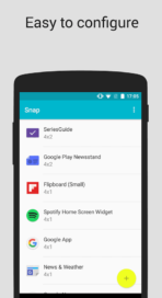 Snap Widget Drawer official image 2