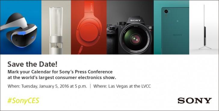 Sony CES Invite