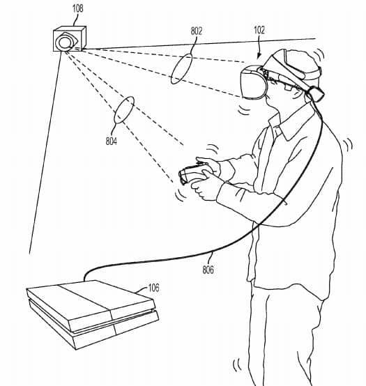 Sony VR Headset Patent 13
