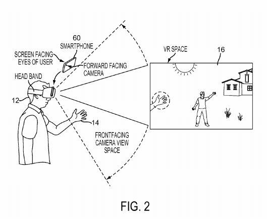 Sony VR Headset Patent 5