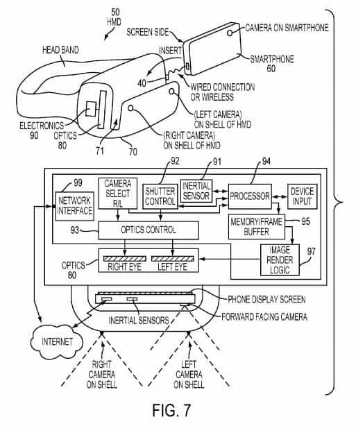 Sony VR Headset Patent 9