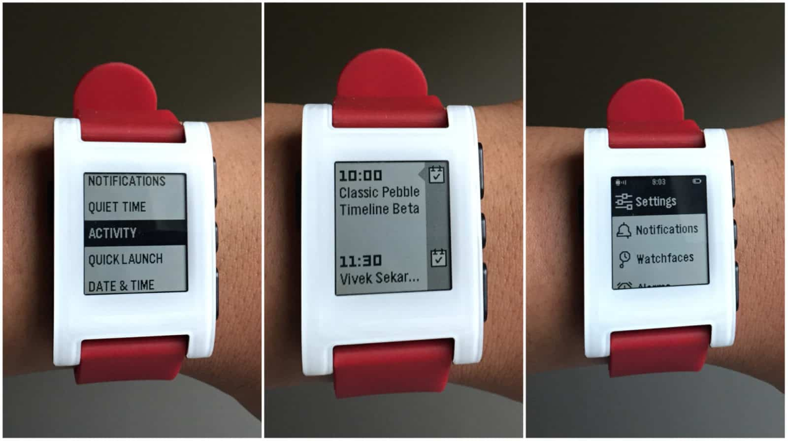 Timeline on Pebble Classic-2