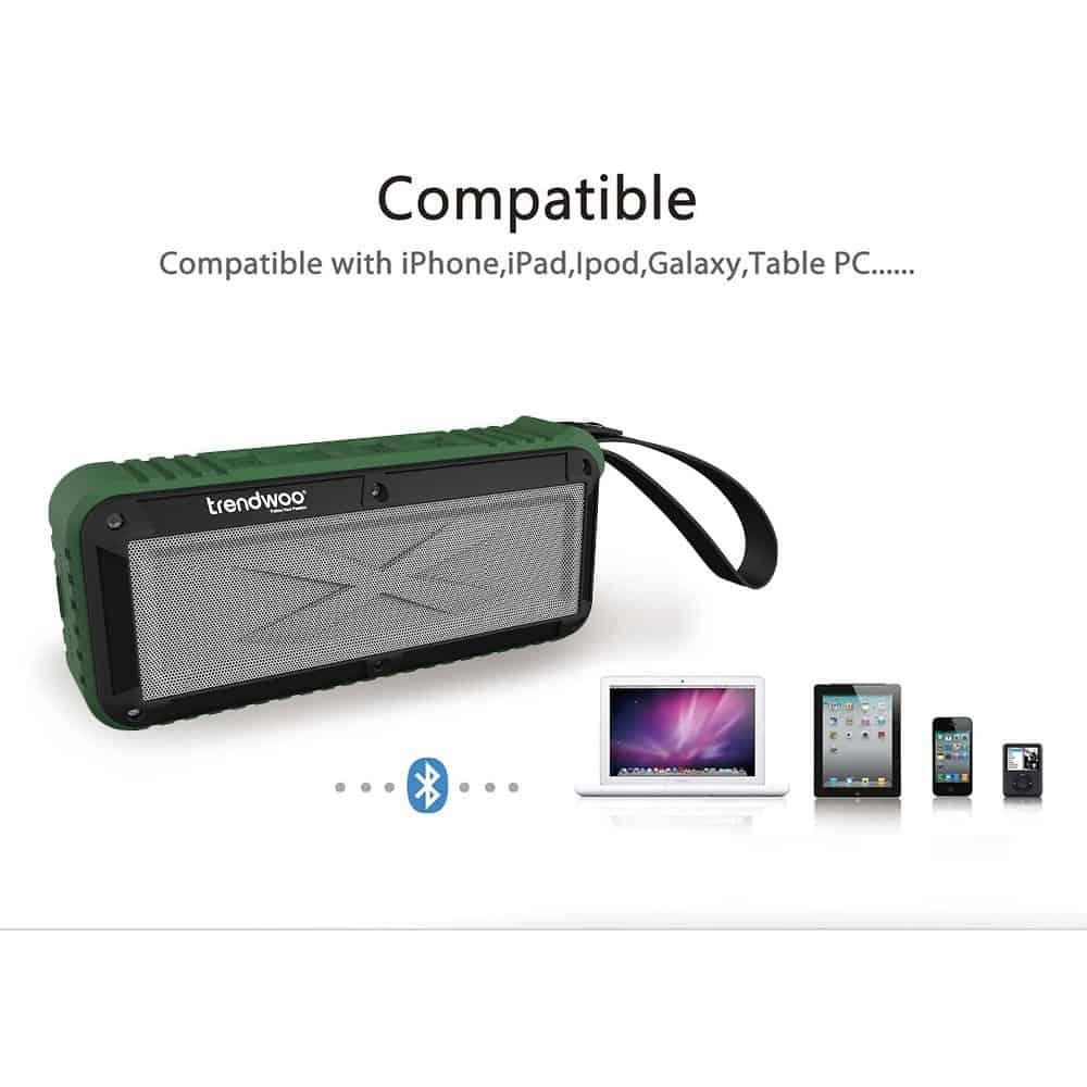 Trendwoo Bluetooth V4.0 Speaker 04