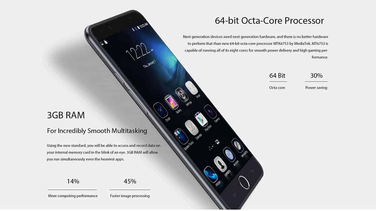 Ulefone Be Touch 3 GB 02