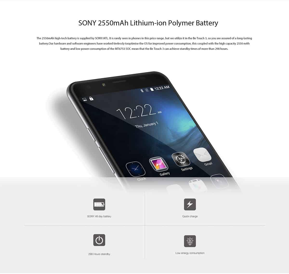 Ulefone Be Touch 3 GB 07