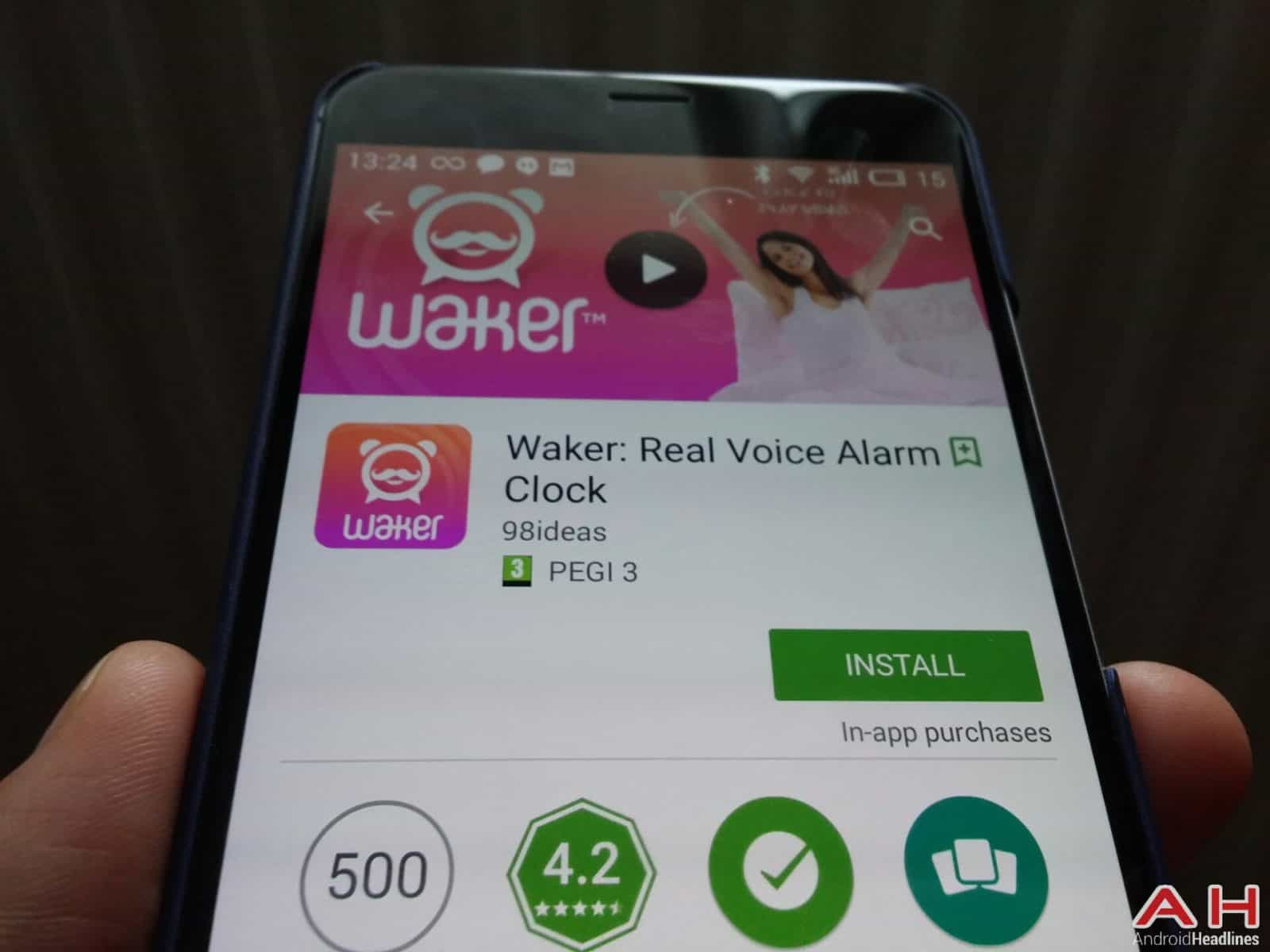 Waker: Real Alarm Voice Clock AH_1