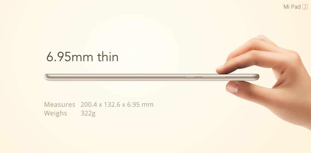 XiaoMi Mi Pad 2 GB 10