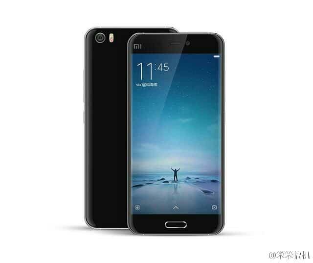 Xiaomi Mi 5 render leak 21