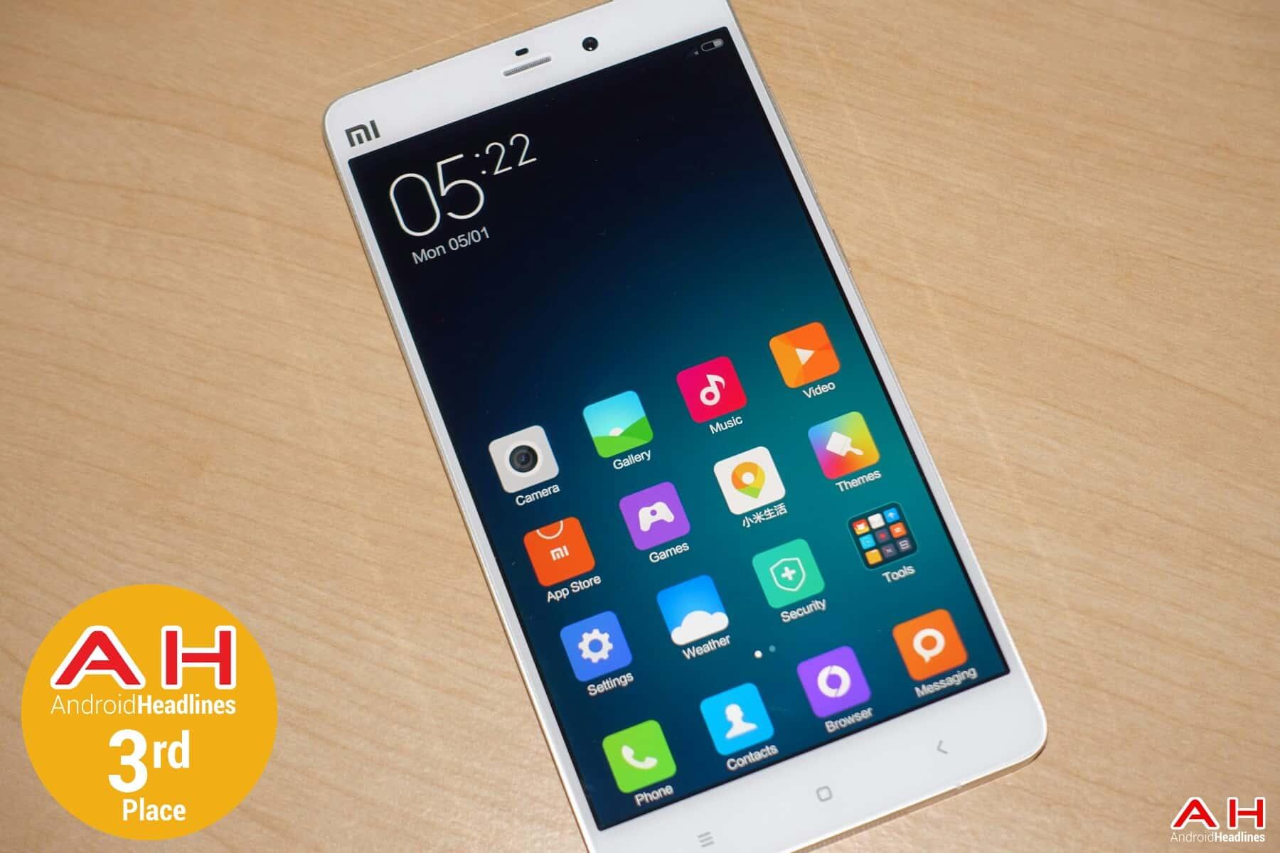 Xiaomi Mi Note Pro Awards AH