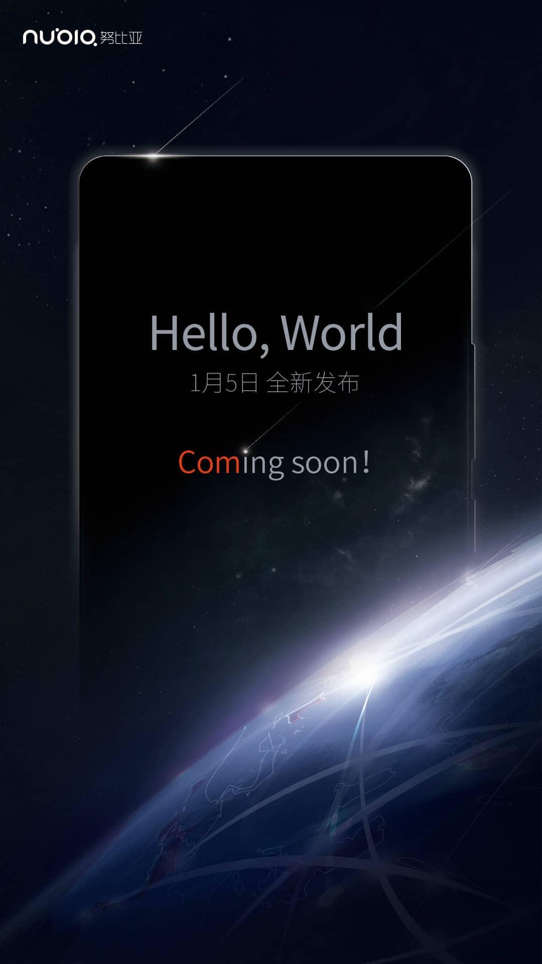 Zte Nubia Leak Weibo