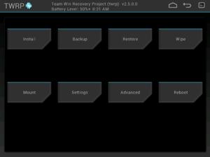 TWRP OnePlus X 1