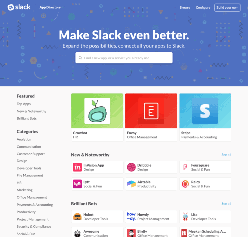 Slack Announcement Decembet 2015