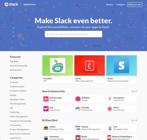 Slack Announcement Decembet 2015