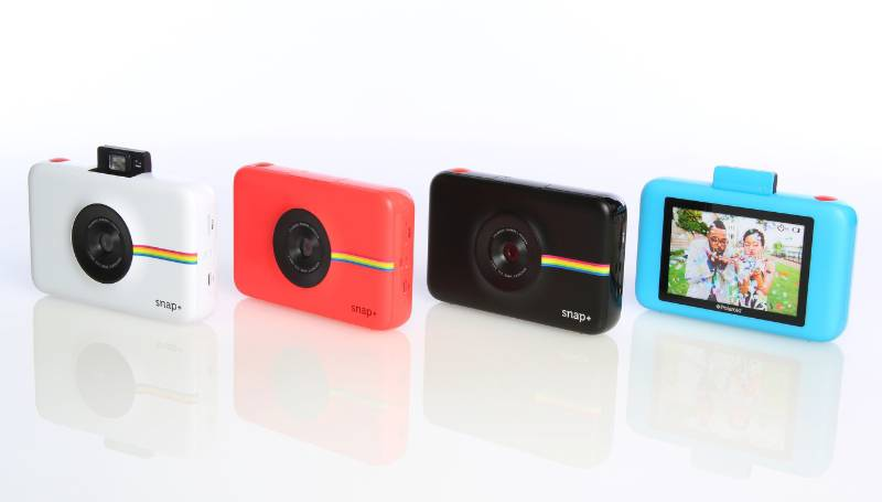 Polaroid launches Snap+ instant print camera at CES 2016 (PRNewsFoto/Polaroid)