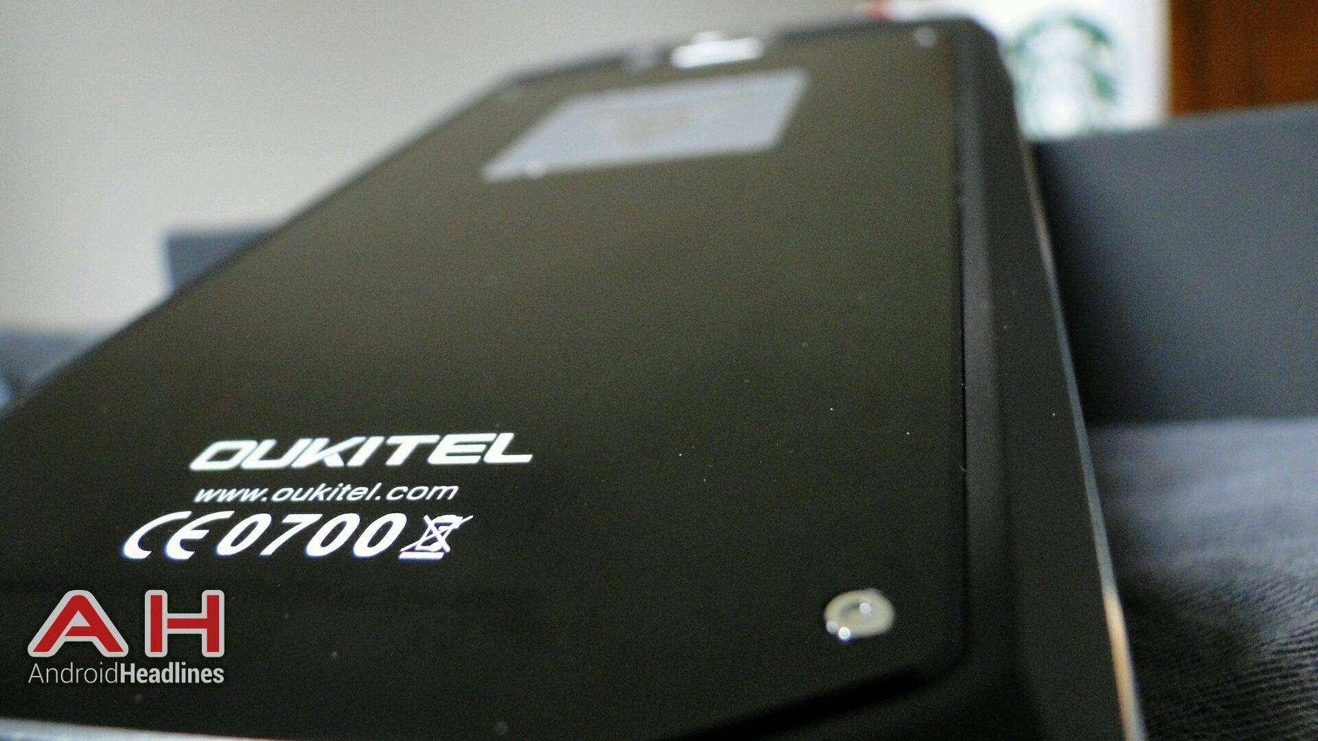 AH Oukitel K10000 Back Detail