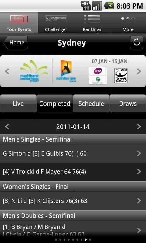 ATP WTA Live