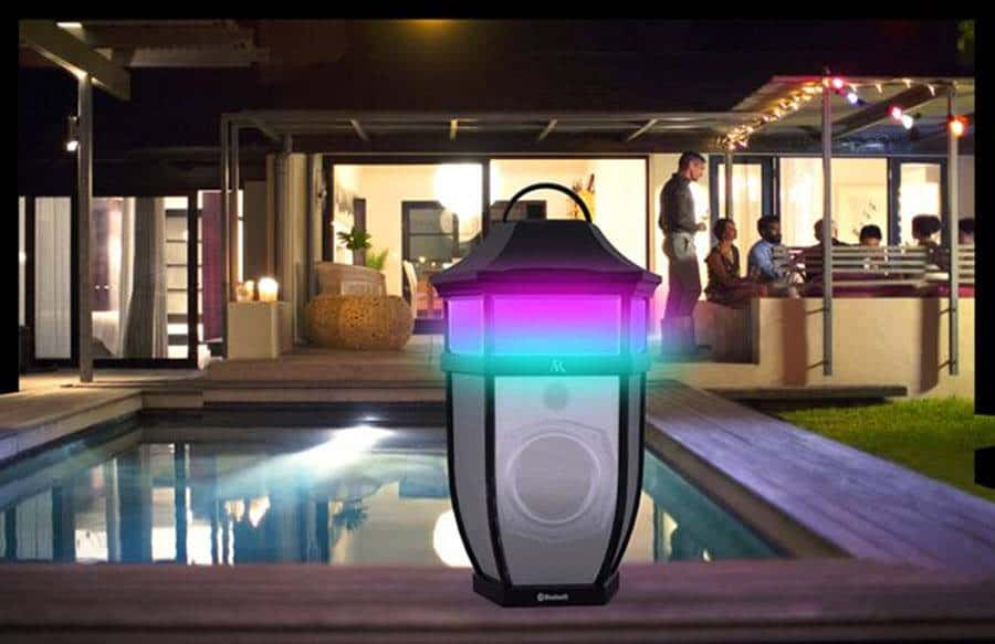 Acoustic Research Outdoor Wireless Speakers Light up Your World
