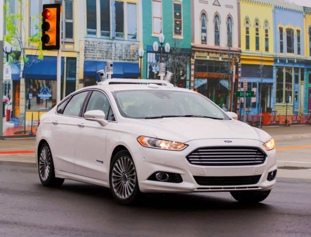 CES Ford Driverless Cars