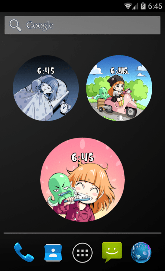 Carla & Schnuu Watch Face Widgets