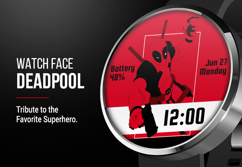 Deadpool Watch Face