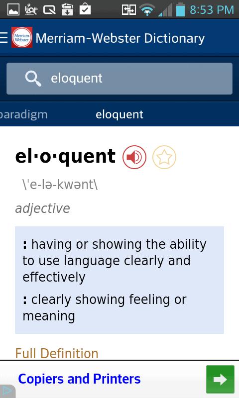 Dictionary - Merriam-Webster
