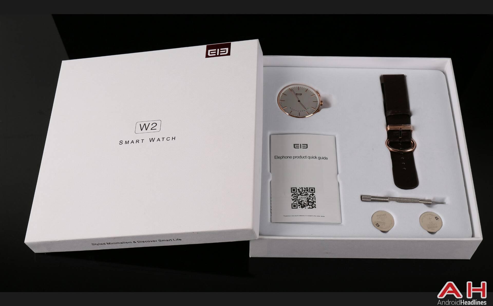Elephone W2 smartwatch 3