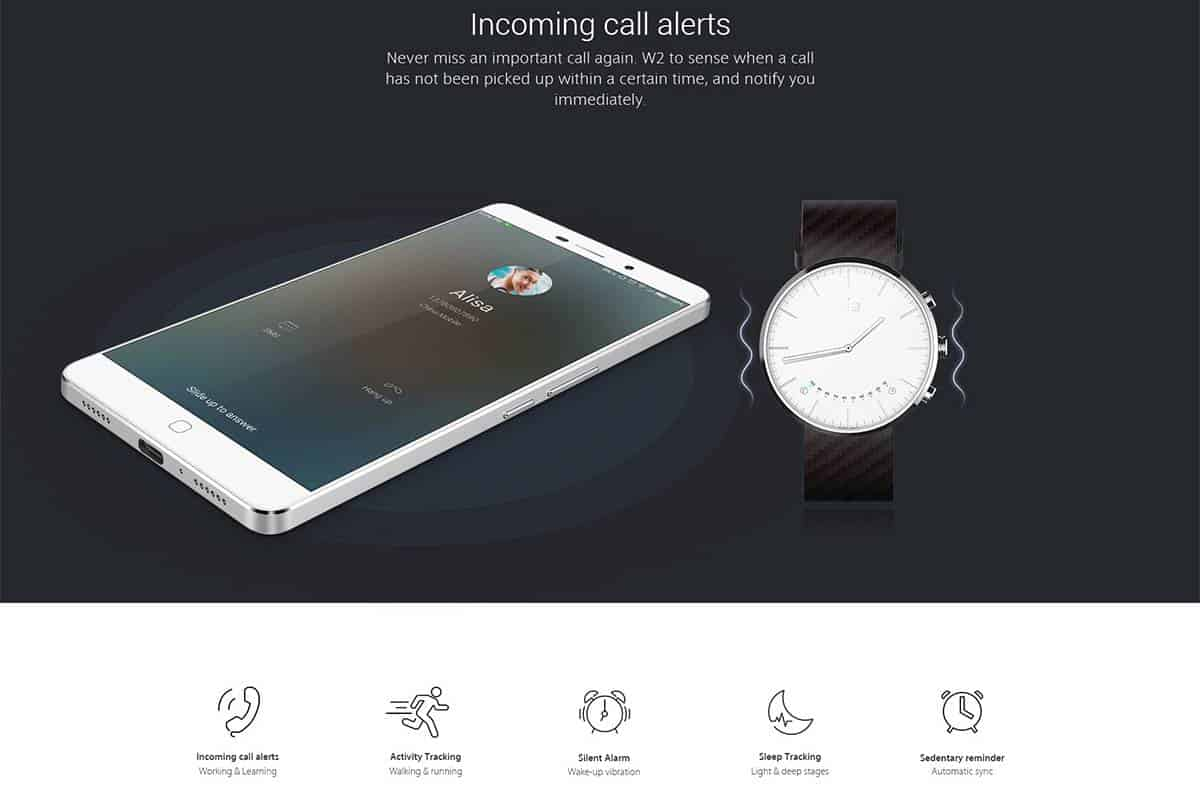 Elephone w2 smartwatch GB 04