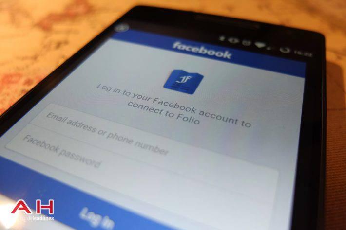 Folio Facebook App AH