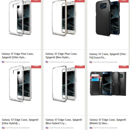 Galaxy S7 Spigen cases leak_3