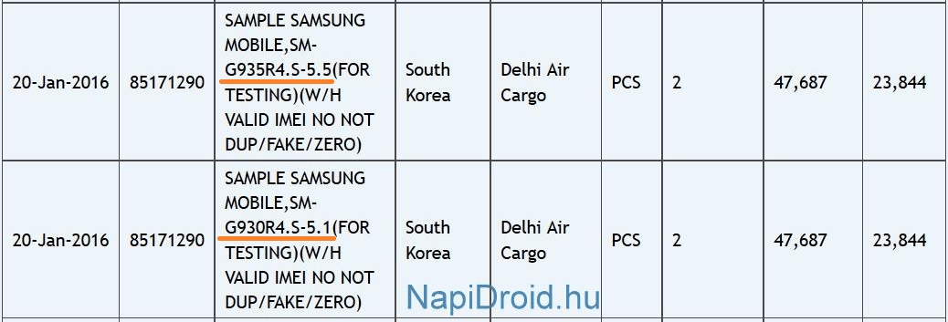 Galaxy S7 and Galaxy S7 Edge Zauba_1