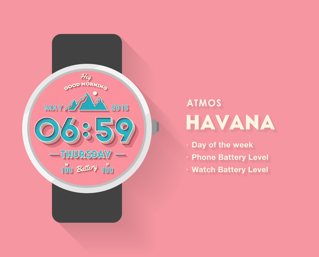 Havana Watch Face
