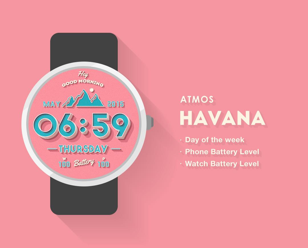 Havana Watch Face